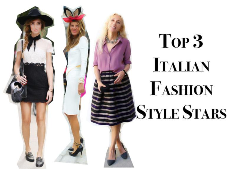 italian fashion style stars