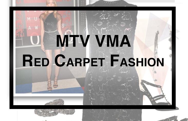 MTV VMA Red Carpet Fashion