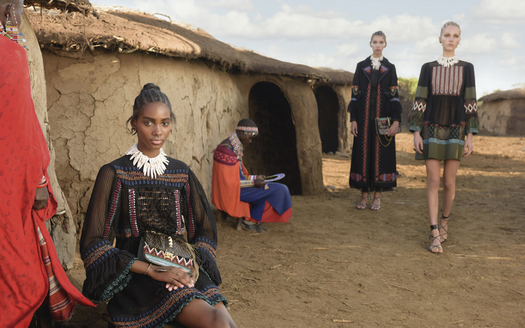 Valentino SS16 Pays Respect to Africa