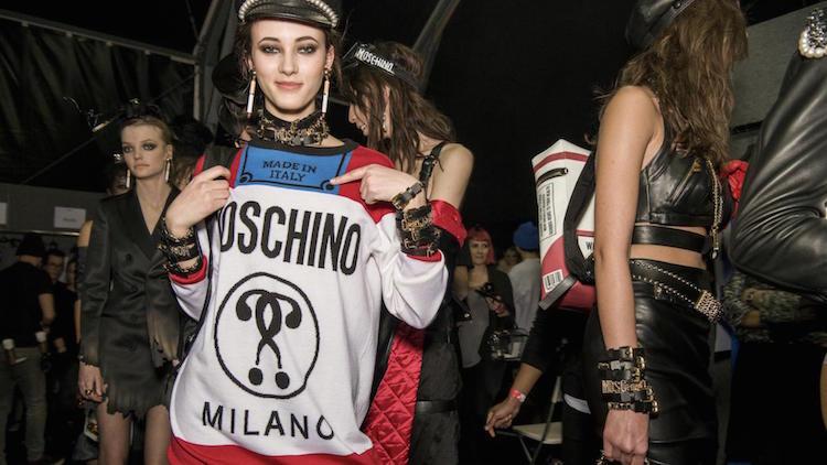 moschino aw16, fashion kills, made in italy, milan fashion week