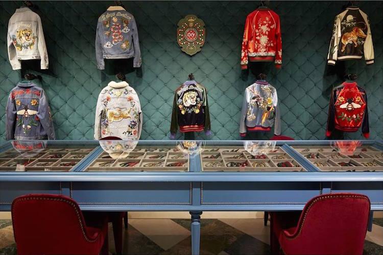 gucci diy, customizable jackets, denim jacket, bomber jacket, ss17
