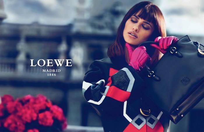 loewe handbags, madrid fashion, penelope cruise, loewe