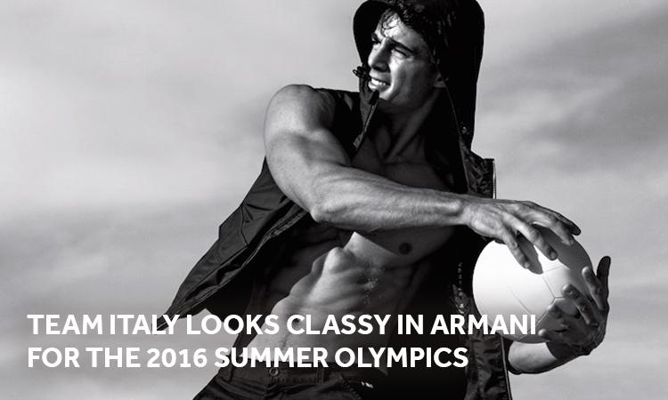 2016 Summer Olympics, Armani, Italian Olympians