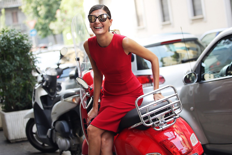 Giovanna Battaglia is the Modern Embodiment of Italian Glamour
