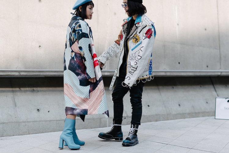 seoul fashion week ss17, seoul street style, korean fashion, korean street style idol