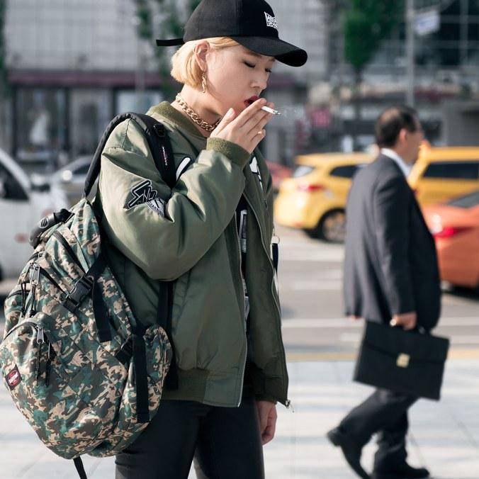 bomber trend, seoul fashion week ss17, seoul street style