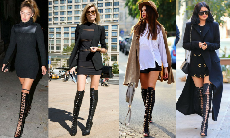 Over the Knee Boots This Season are Taller, Sexier and Sky High