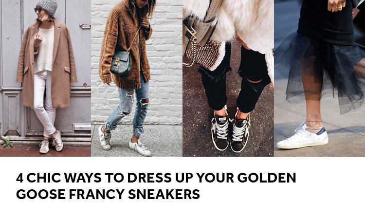 Golden Ways Goose Sneakers Francy Your Up Dress Chic 4 To PxqROgY