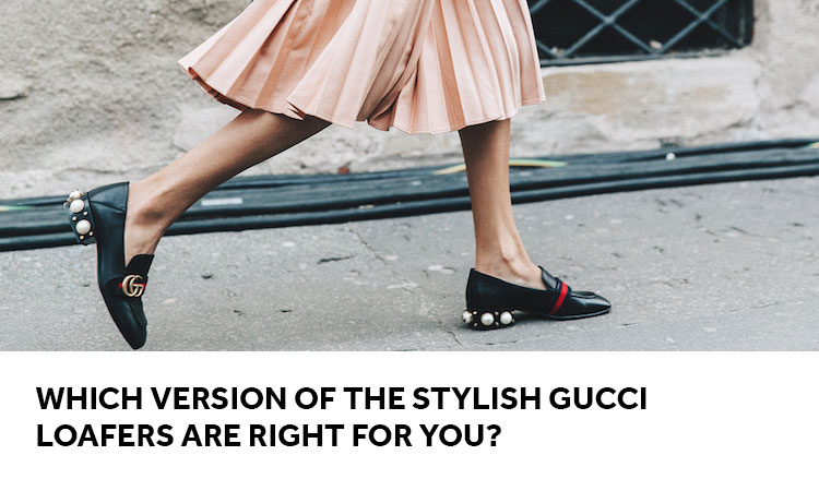 ced6905da9a Which Version of the Stylish Gucci Loafers are Right for You