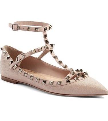 48e582602e7f Valentino Rockstud Flat shoes, rockstud ballerina, valentino shoes,  valentino flat shoes