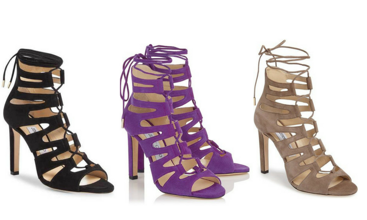 3 Jimmy Choo Caged Sandals this Spring