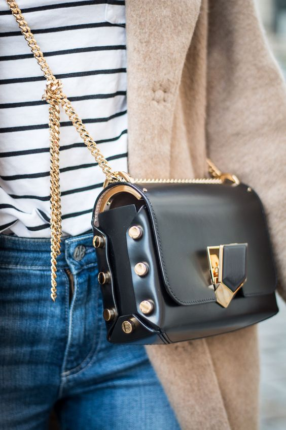 40cac4090d96 Make a Shiny Statement with the Jimmy Choo Lockett Bag