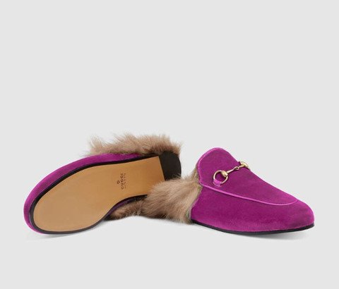 cd990499fb These Gucci Princetown Slippers Are the Perfect Valentine's Gift