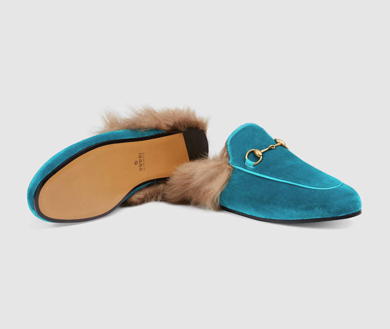 These Gucci Princetown Slippers Are the Perfect Valentine's Gift