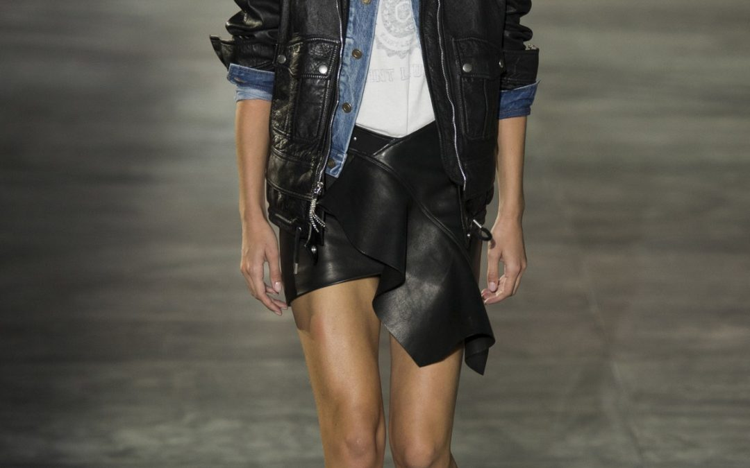 The 80's are Back with These Saint Laurent Jackets