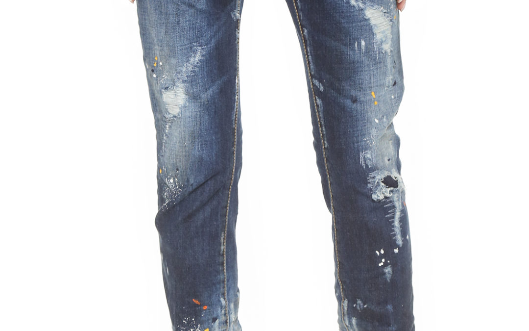 Spring Trend Checklist: MSGM t-shirt and DSquared2 jeans