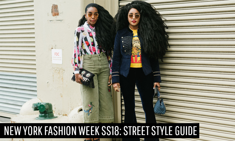 New York Fashion Week SS18: Street Style Guide