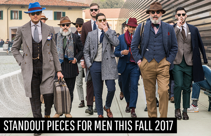 Standout Pieces for Men This Fall 2017