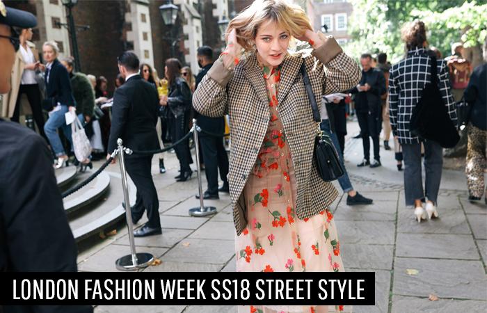 London Fashion Week Spring Summer 2018 Street Style