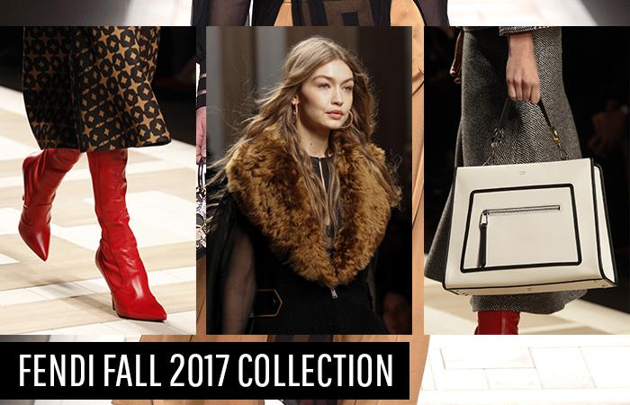 Fendi Fall 2017 Womenswear Collection