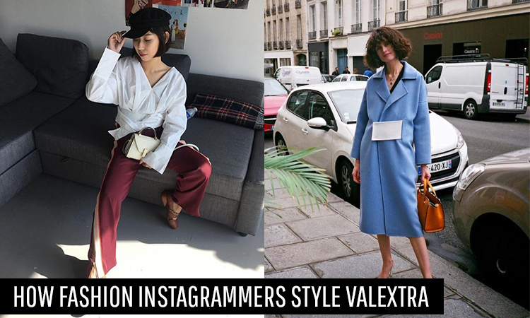 How Fashion Instagrammers Style Valextra Bags