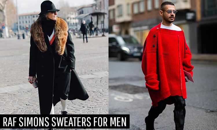 Raf Simons Sweaters For Men | Street Style Staples