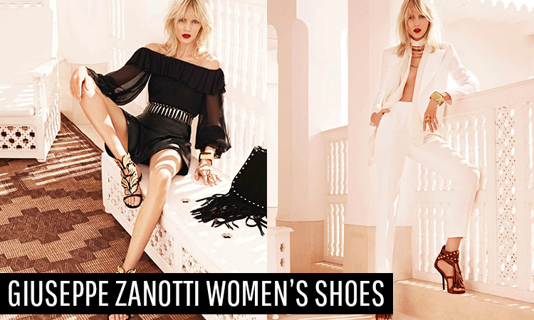 Glam Up With Giuseppe Zanotti Women's Shoes