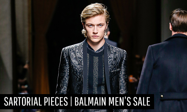 Invest In These Sartorial Pieces | Balmain Mens Sale