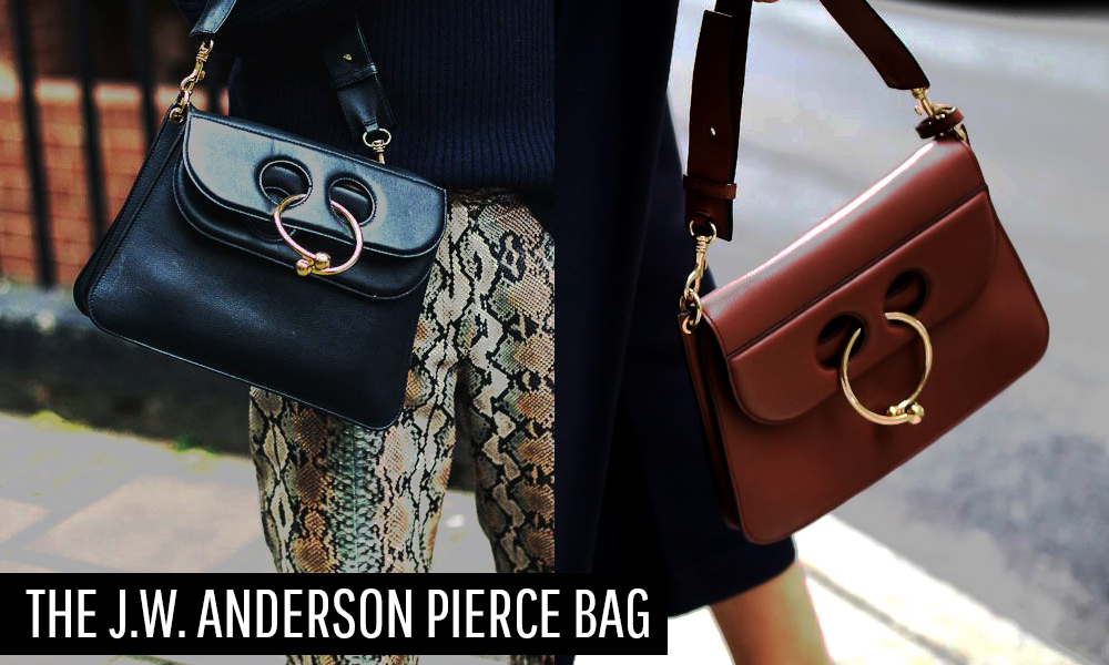 How They Style The JW Anderson Pierce Bag
