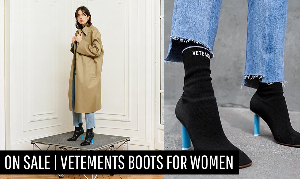 ON SALE | Vetements Boots for Women