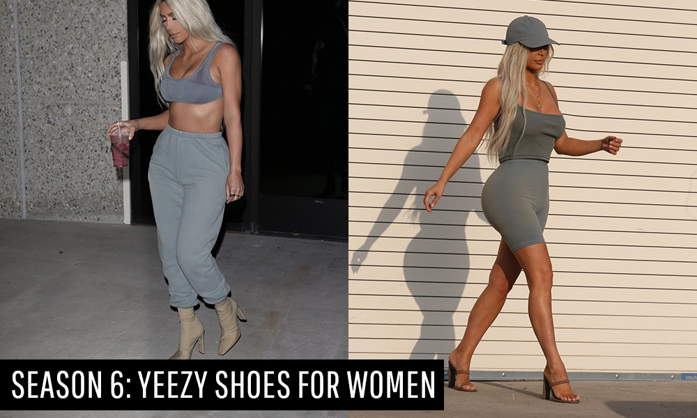 Shop Yeezy Shoes for Women From Its Season 6 Lookbook