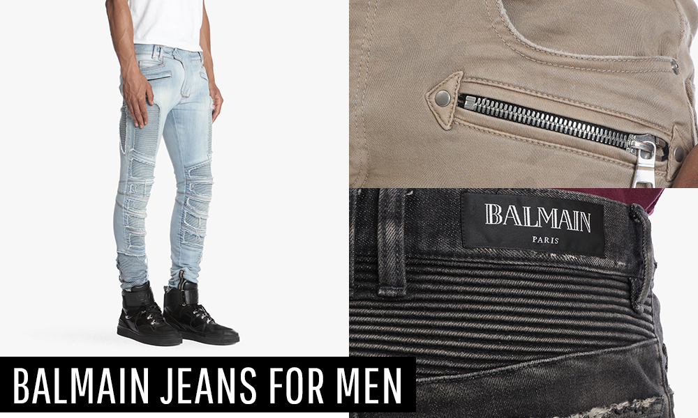 A Pair To Invest In: Balmain Jeans For Men