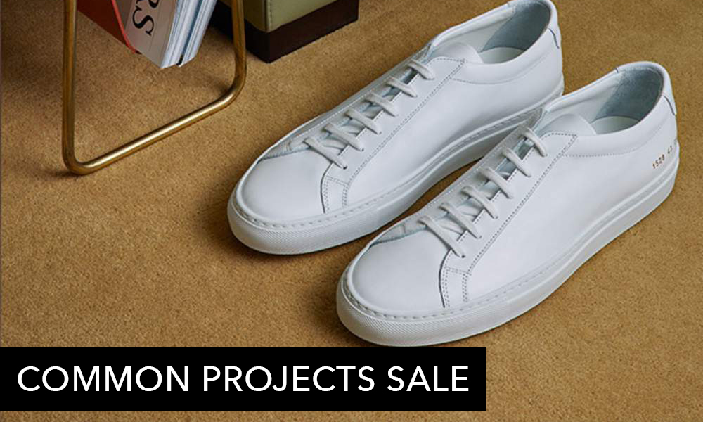 For The Love of Sneakers: Common Projects Sale