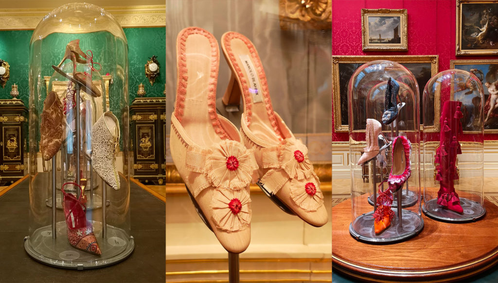 df23415d34ca3 Art and Sole: Manolo Blahnik Hangisi and More Paired with ...