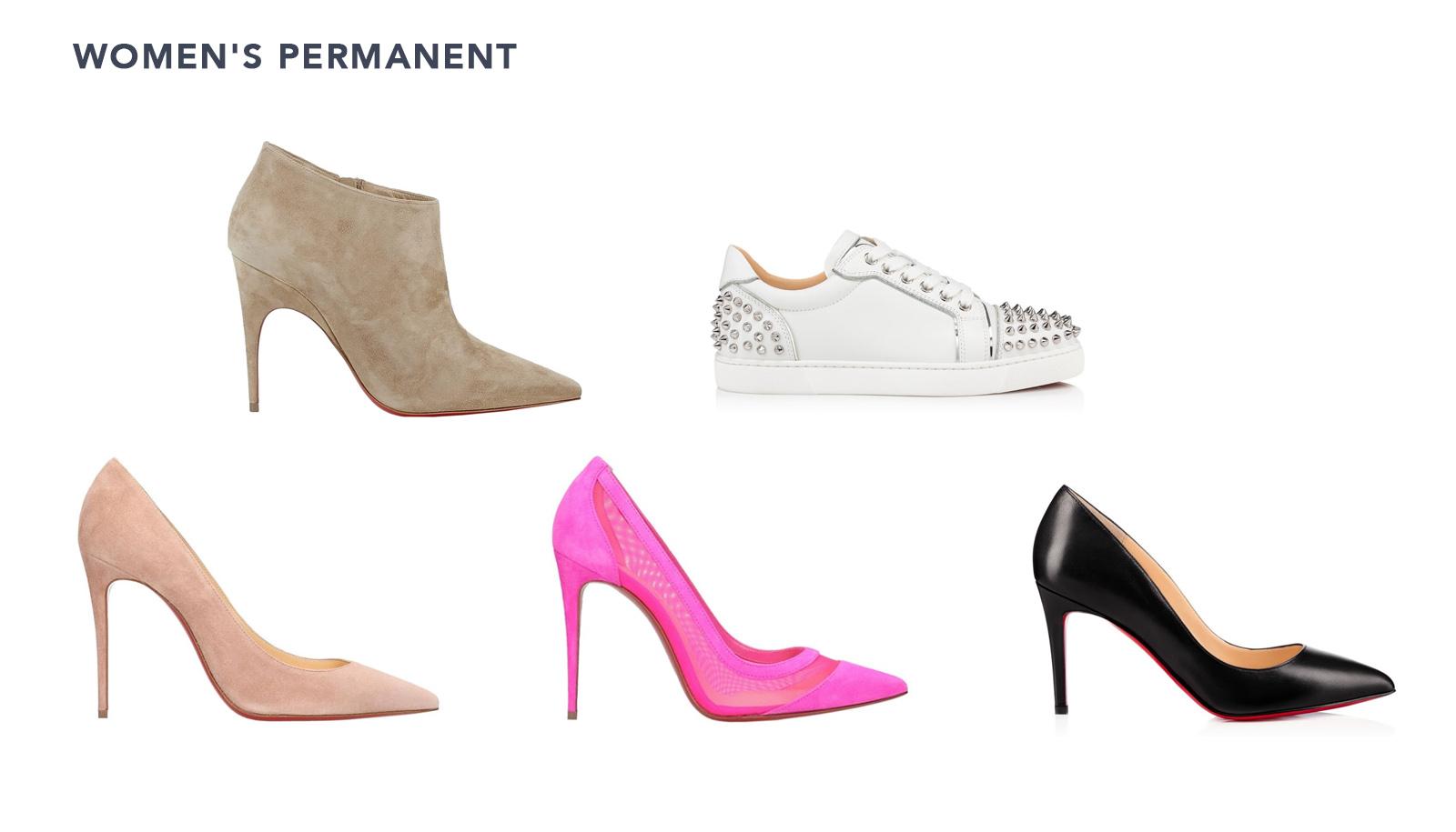 red bottoms heels price