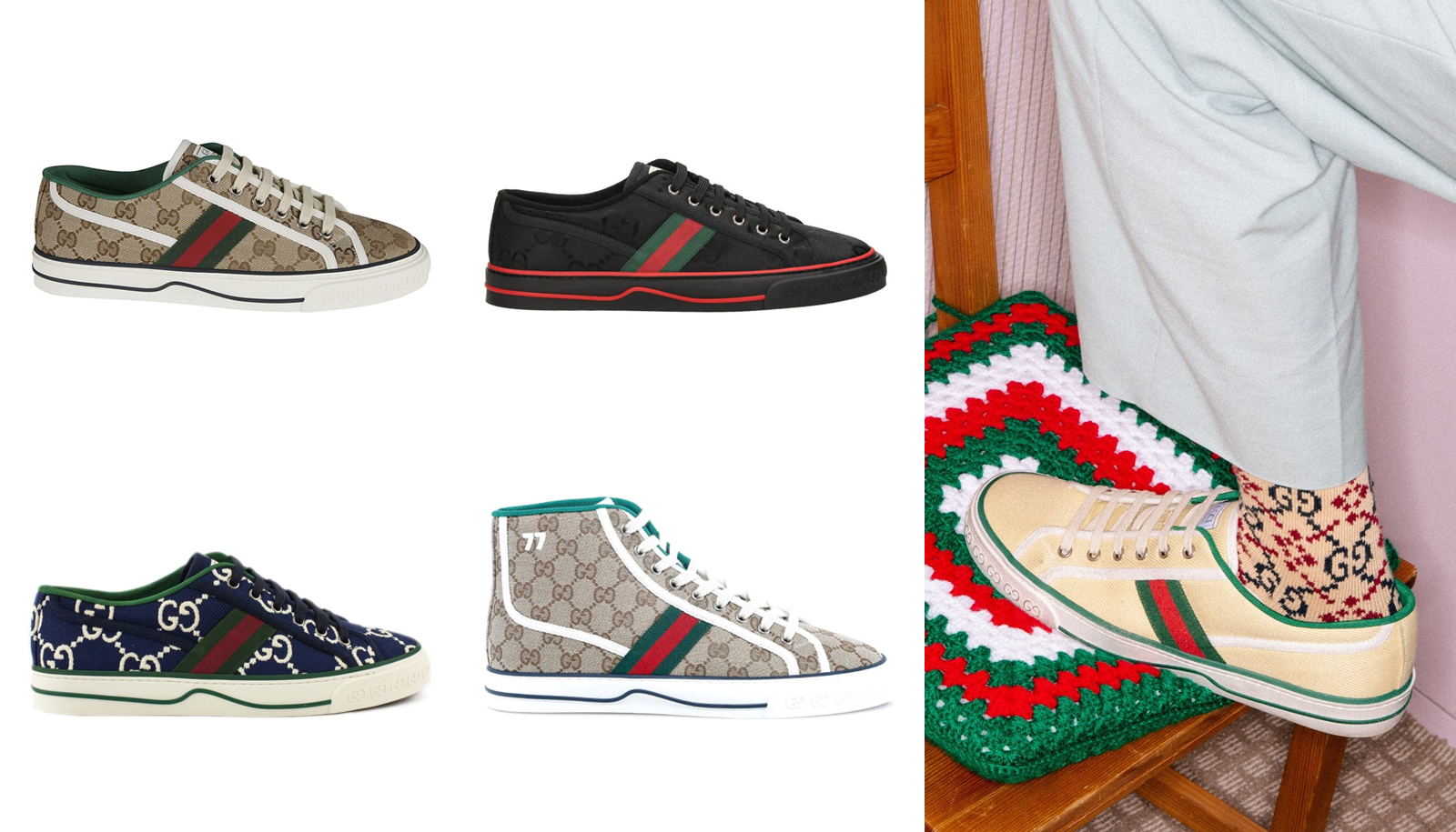 The Best Gucci Sneakers for Men For Any
