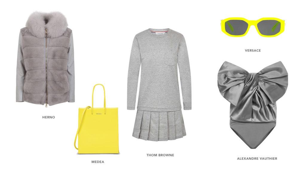 pantone ultimate gray womenswear