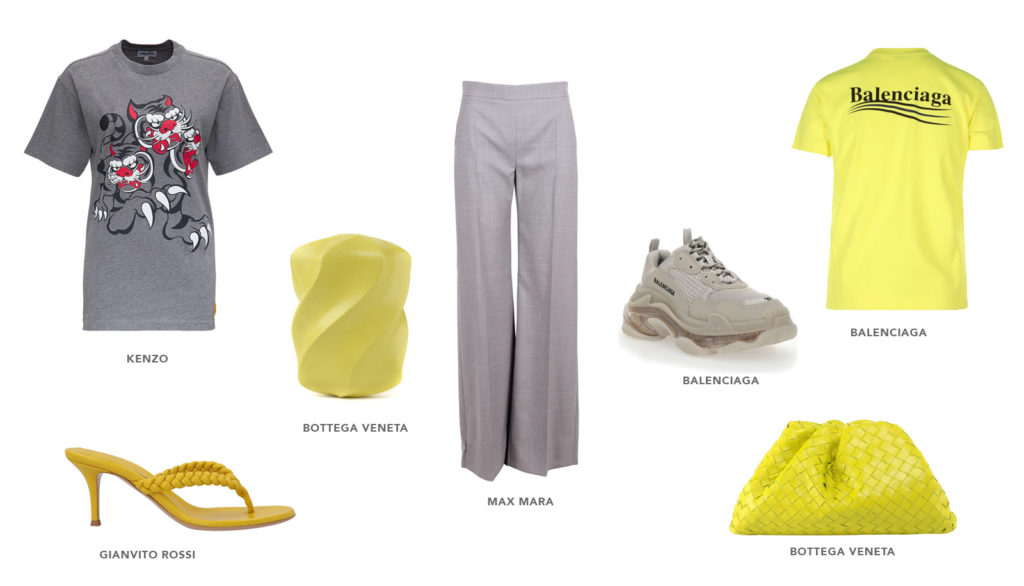 pantone illuminating yellow womenswear